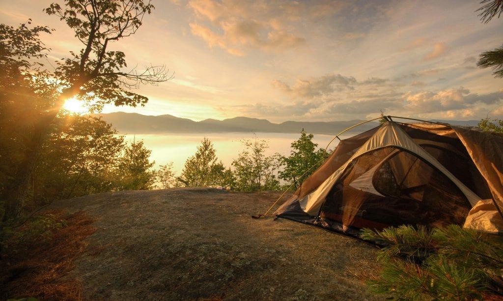 lugares ir de camping