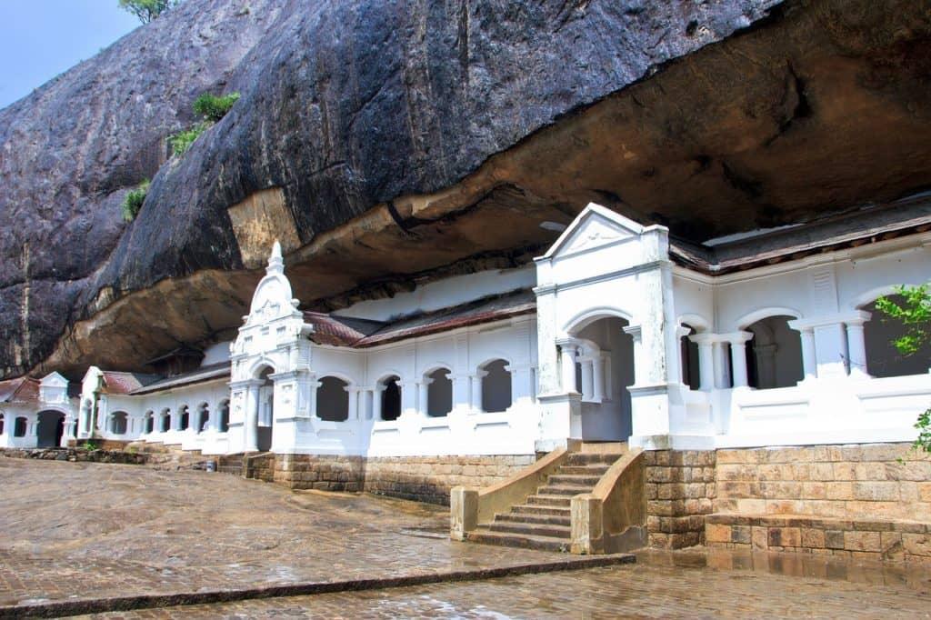 templos de dambulla en sri lanka