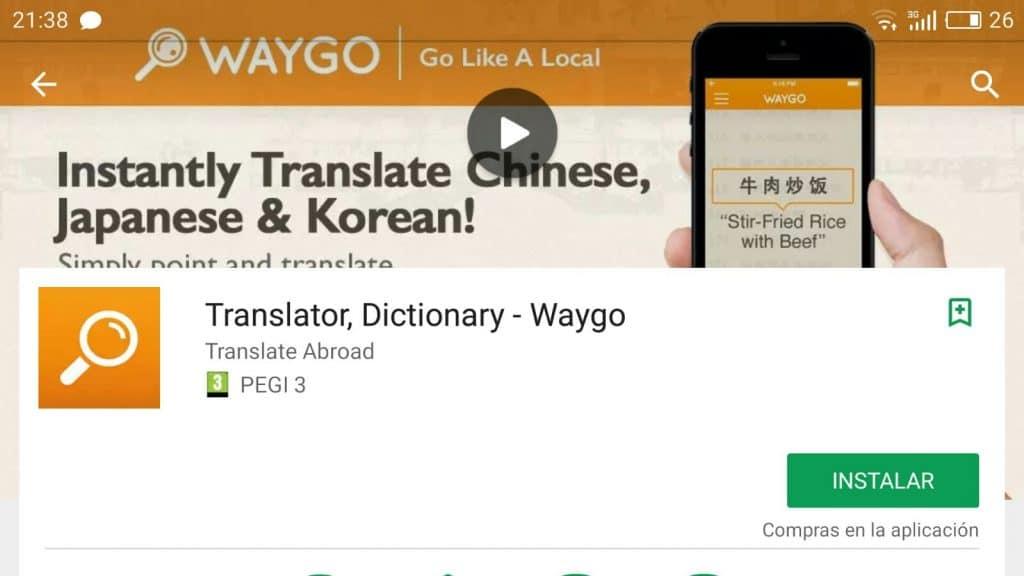 aplicaciones de traducción para Asia