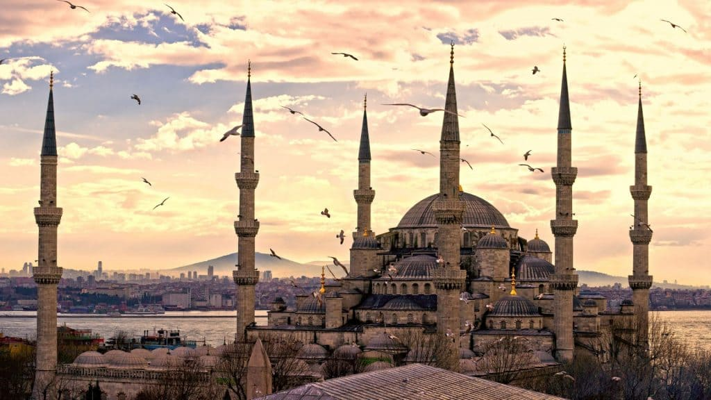 Conoce estambul y mosque