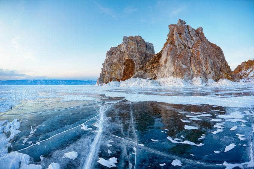 reserva natural del lago baikal