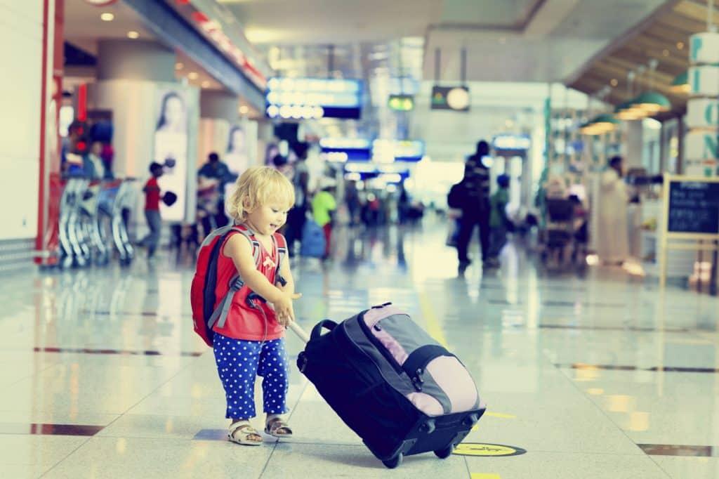 viajar con niños o con tus hijos
