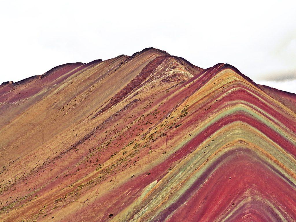 montaña arcoiris en peru