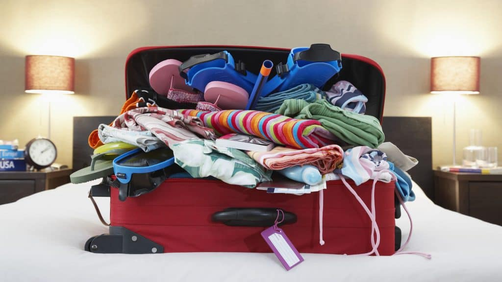 Recuerda y que no olvides nada del equipaje