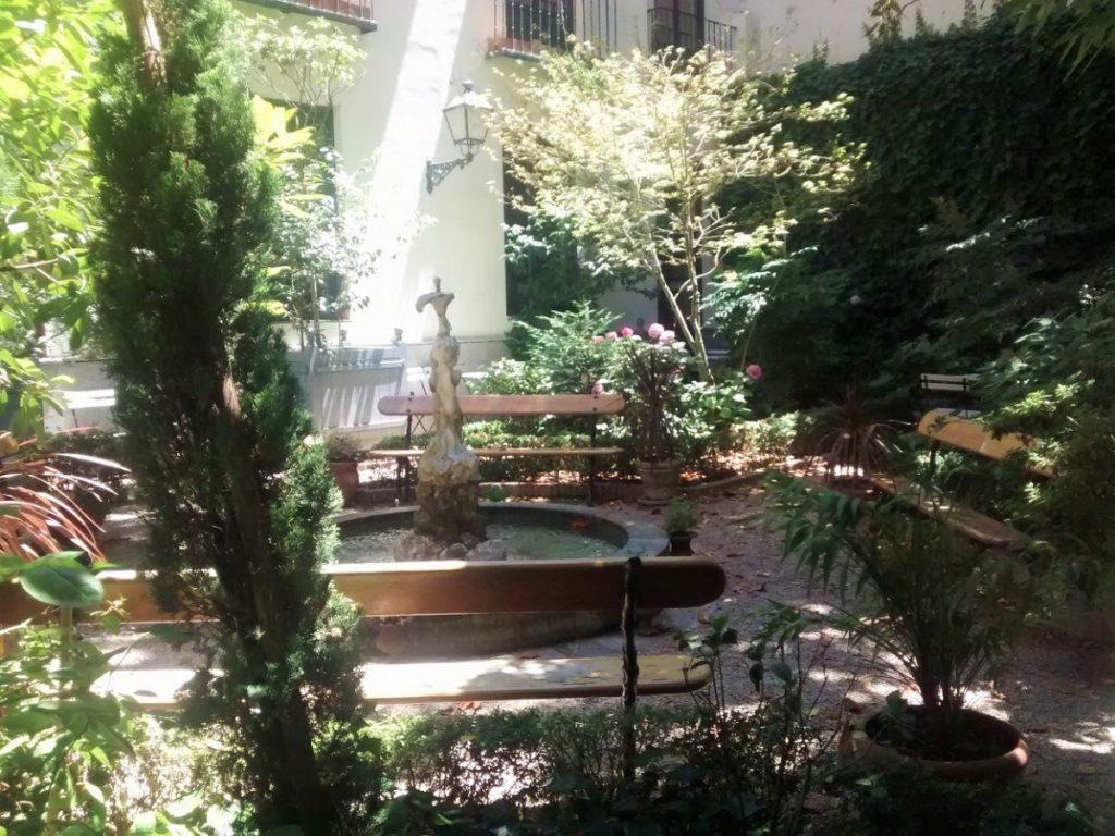 cafe jardin museo del romanticismo