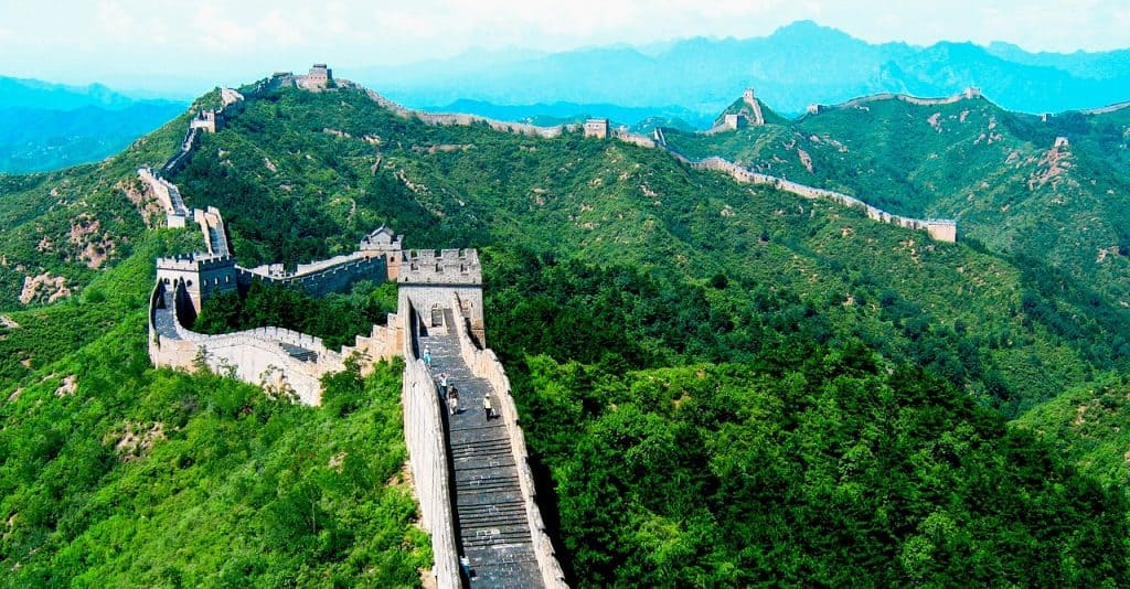 7 maravillas mundo moderno gran muralla