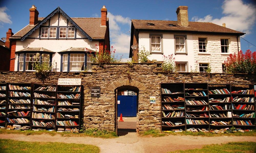 hay-on-wye, la ciudad de los libros