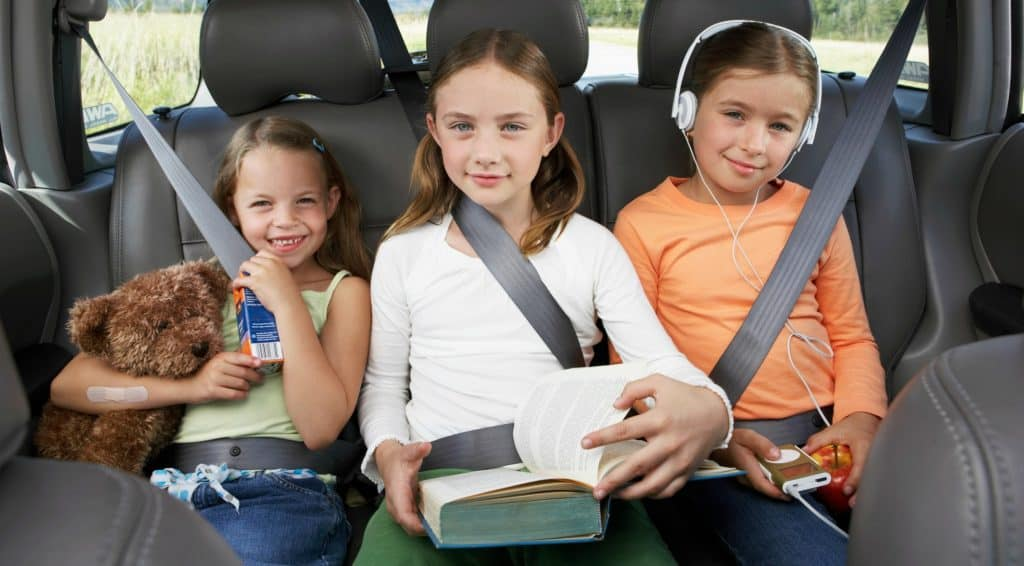 El mejor viaje por carretera con niños