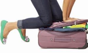 vacaciones y maletas