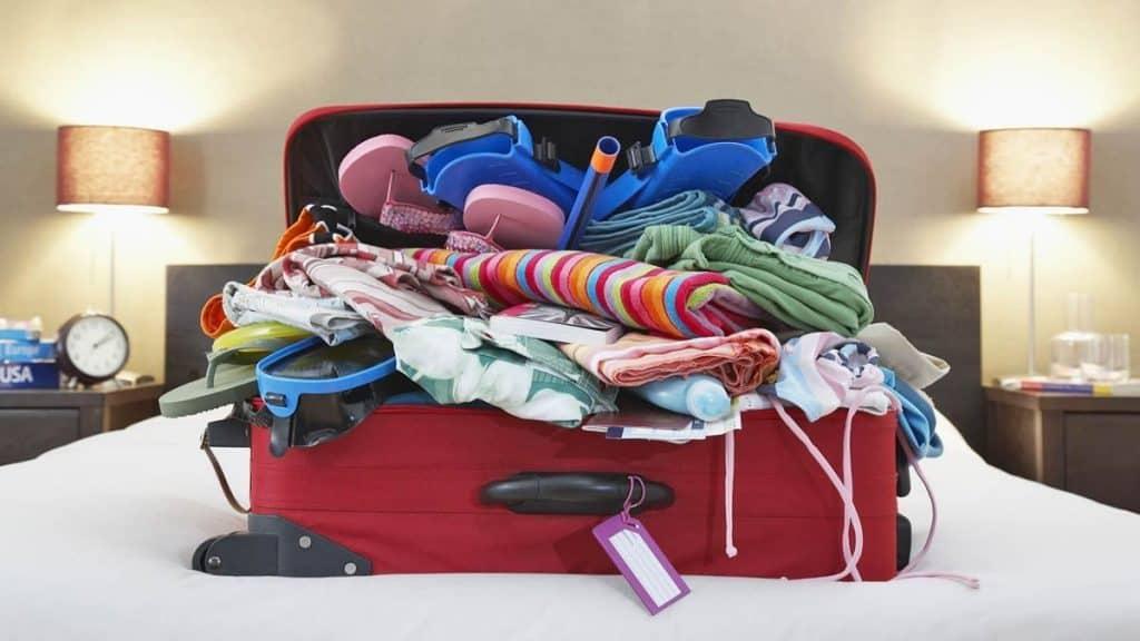 vacaciones y maletas donde viajamos