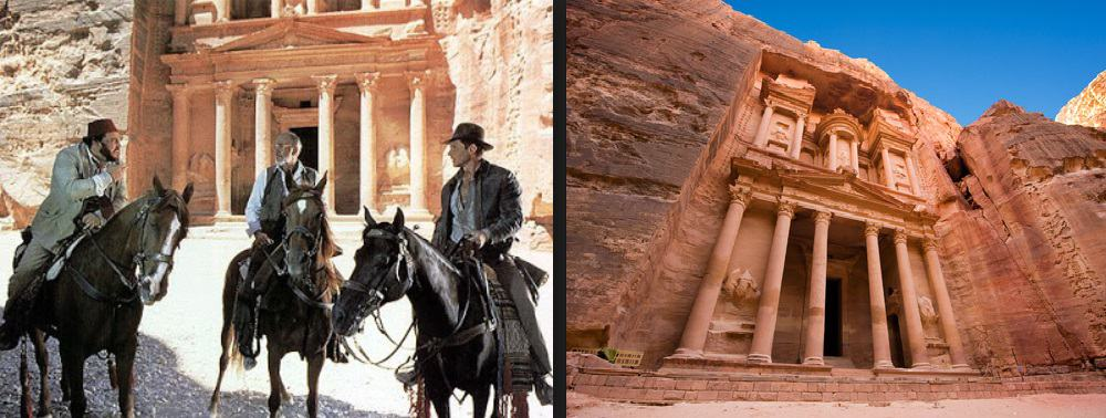 Destinos Pelicula Indiana Jones Petra