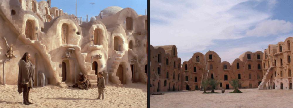Destinos Pelicula Star Wars Tunez