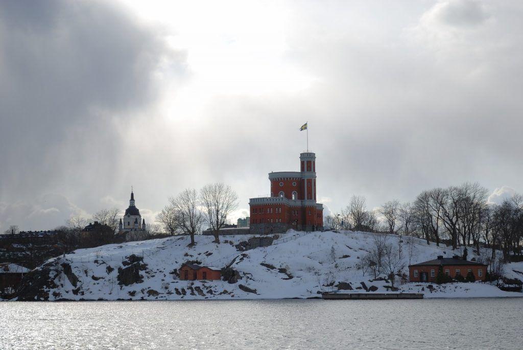 Estocolmo Navidad Castillo