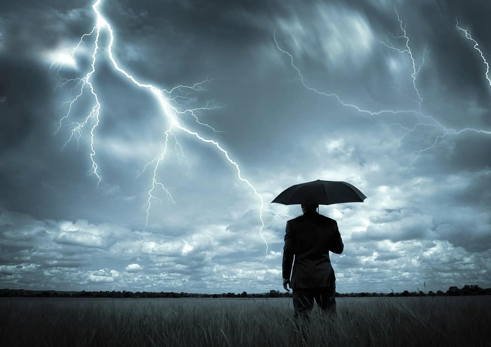 consejos tormenta eléctrica
