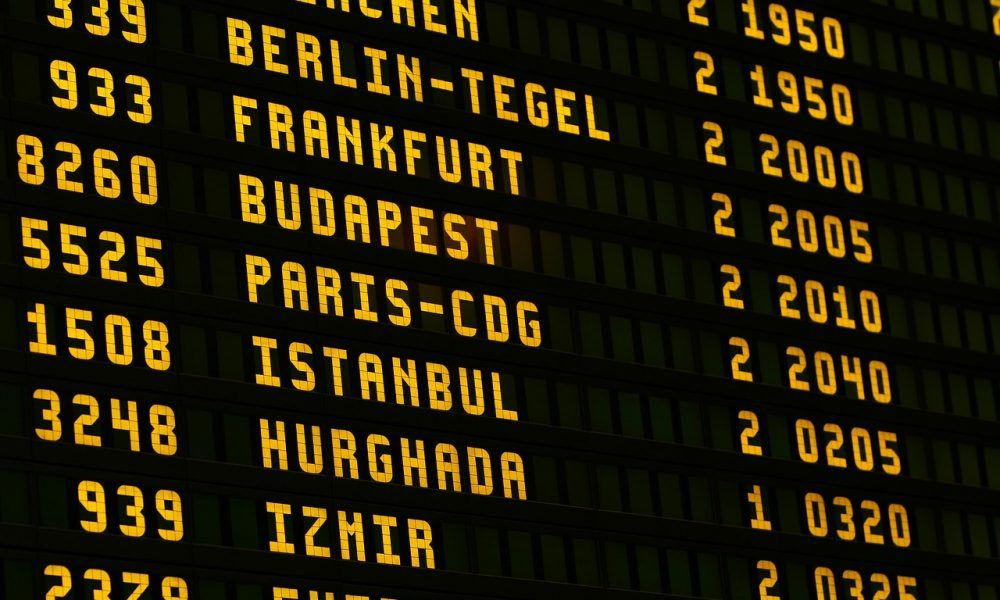 viajar aeropuerto