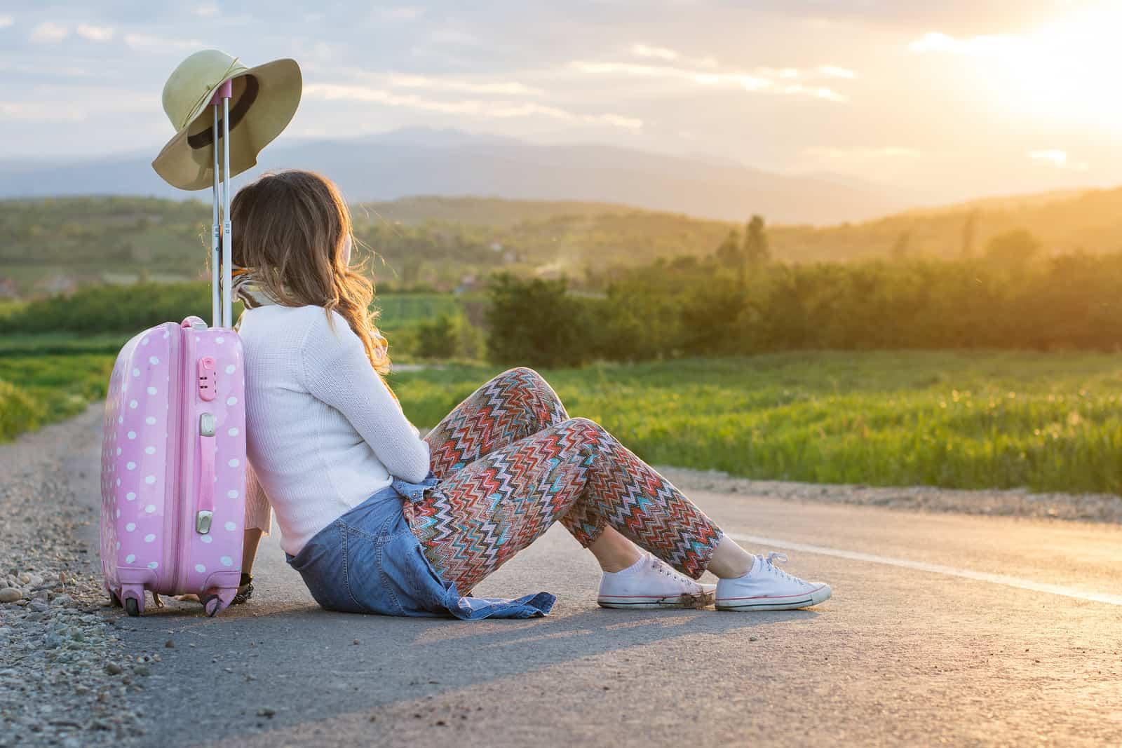 viajar sola y segura