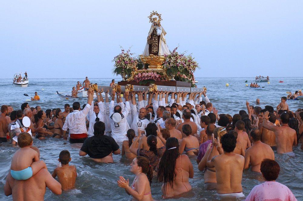 Fiestas del Virgen del Carmen