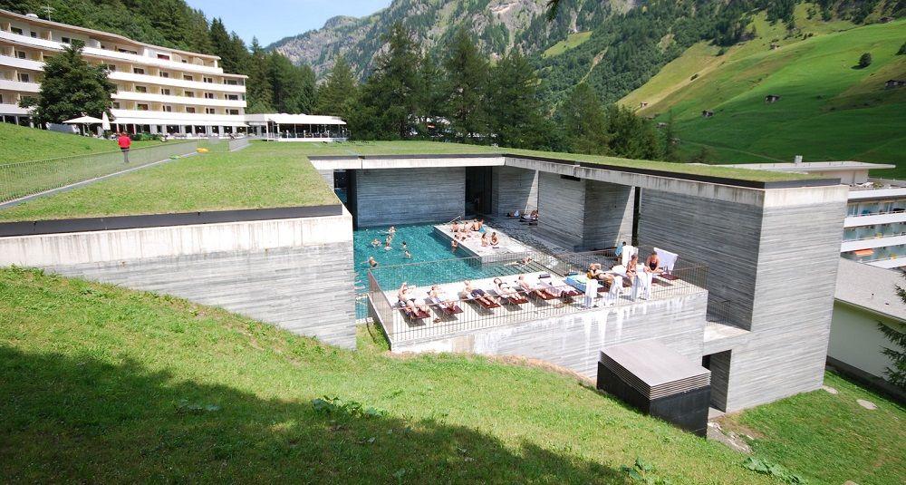 termas de vals en Suiza