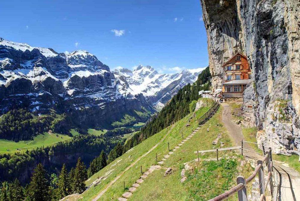 hotel Äscher Cliff
