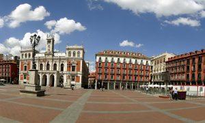 valladolid. plaza mayor