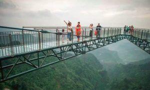 parque temático extremo Wansheng Ordovician en China