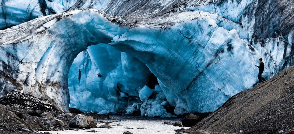 Cueva de hielo glaciar Vatnajökull