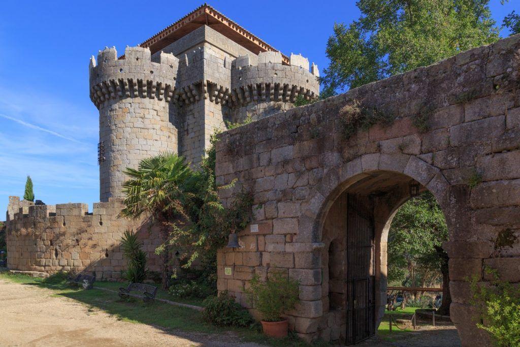 entrada castillo de granadilla