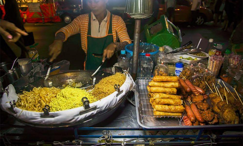 comida tailandia y cocina de Bangkok