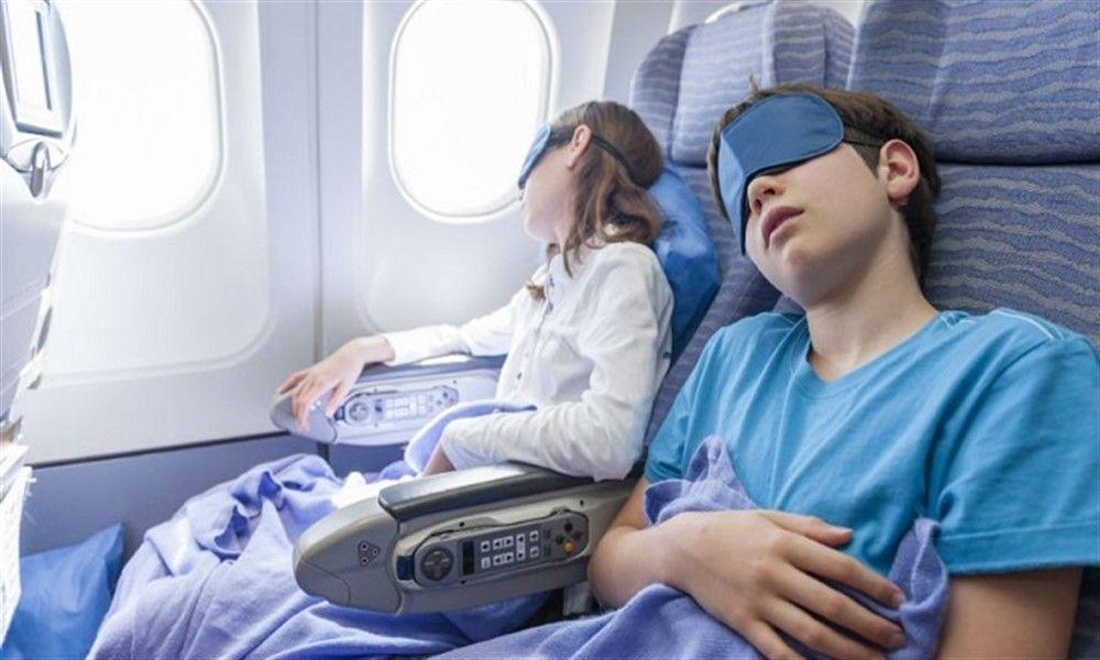 Dormir en el avion