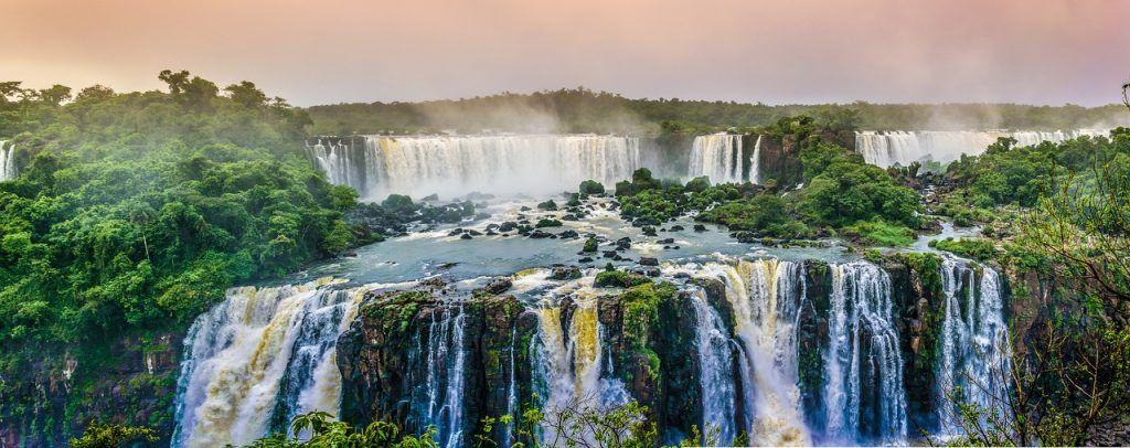 Cataratas en Sudamérica