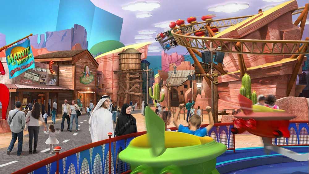 Interior-de-Warner-Bros-en-Abu-Dhabi