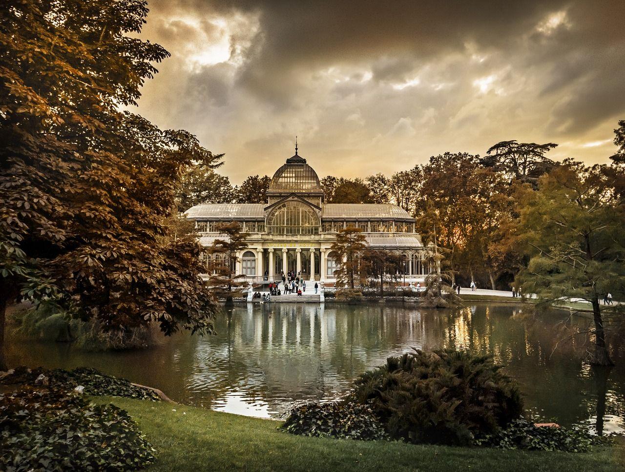 parque de el retiro madrid, día primaveral en Madrid