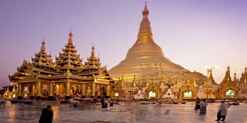 Shwedagon Paya, Myanmar