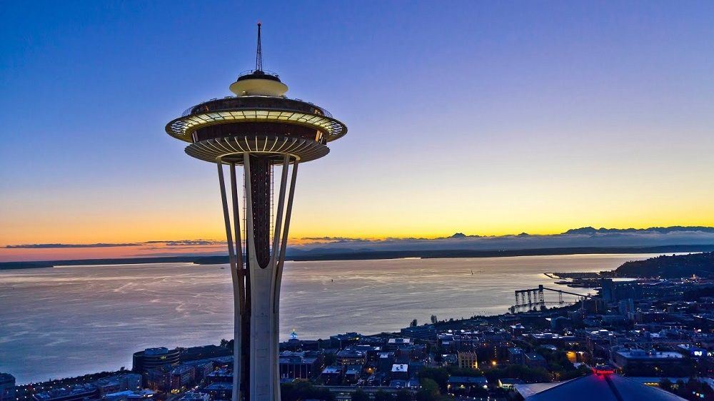 Seattle Space Needle en Seattle
