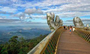 Vietnam acaba de inaugurar el Gran Puente Dorado