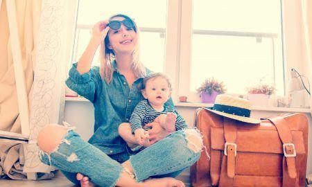 viajar en avión con tu bebé