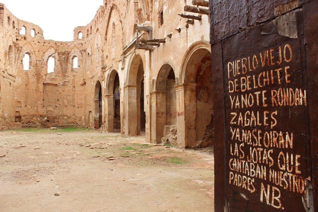 Belchite, España