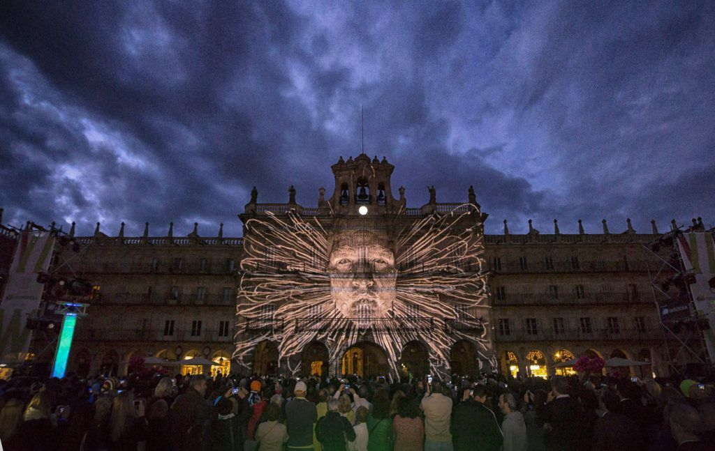 festival de luces y vanguardia en salamanca