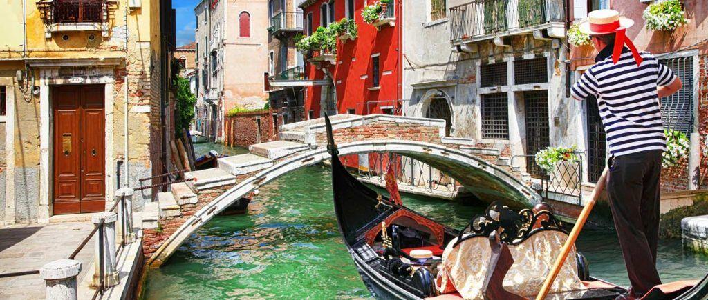 paseos románticos en venecia