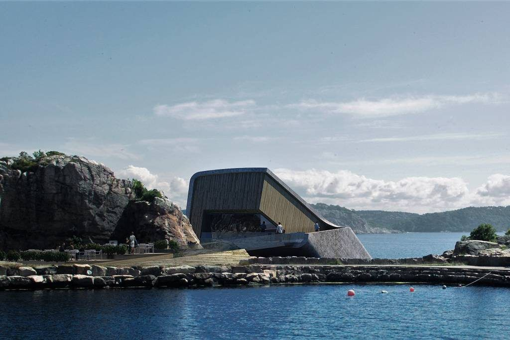restaurante más grande del mundo bajo el mar