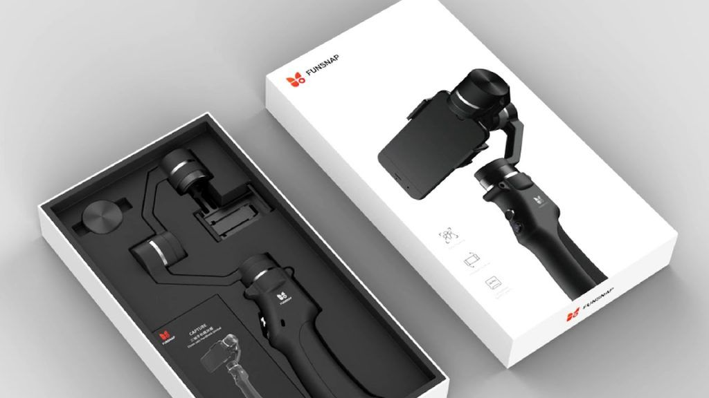 estabilizador para grabar vídeos con el móvil