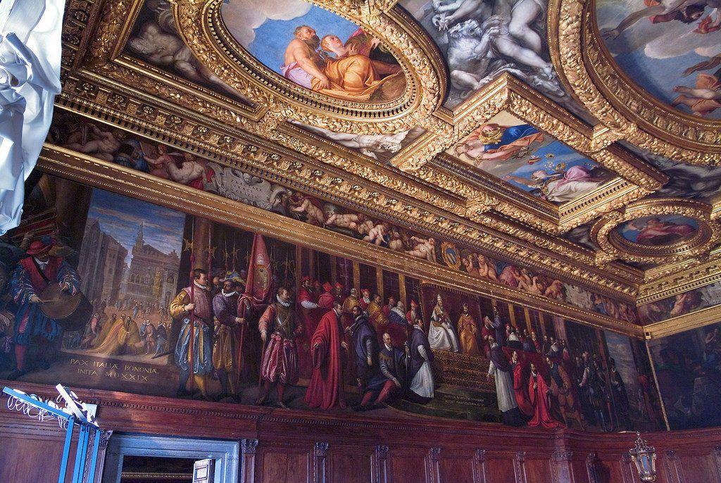 obras maestras en el palacio ducal