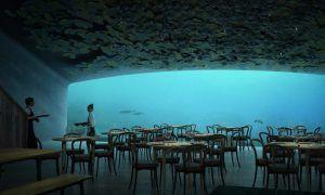 Under, descubre el primer restaurante bajo el agua de Europa
