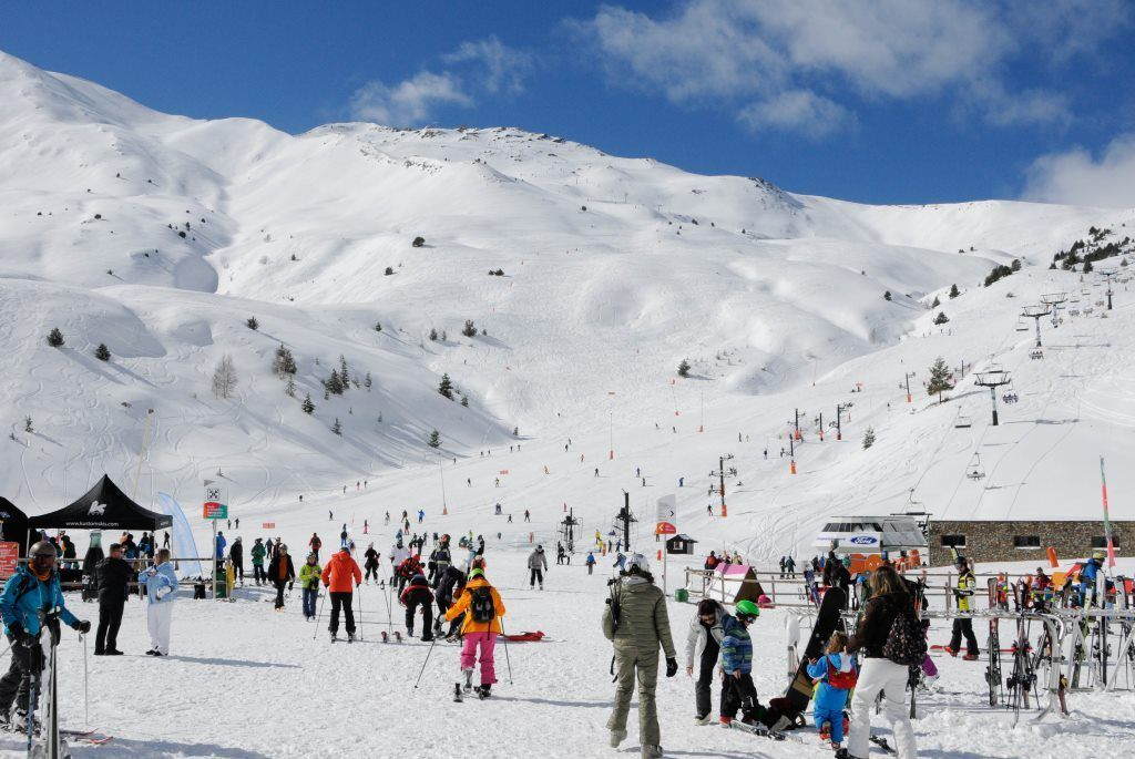 Estacion de esqui de aramon