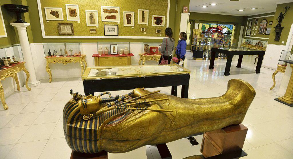 Museo egipcio en león