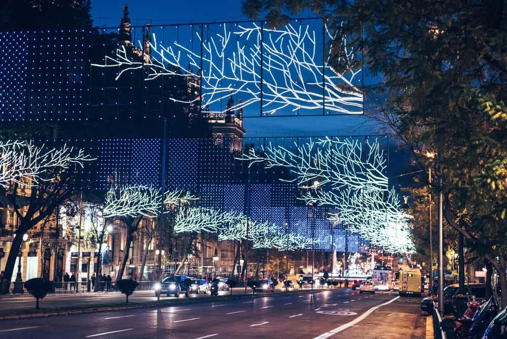 encendido de luces de navidad en madrid