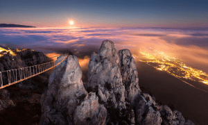 Monte Ai-Petri, un paisaje espectacular en la Republica de Crimea