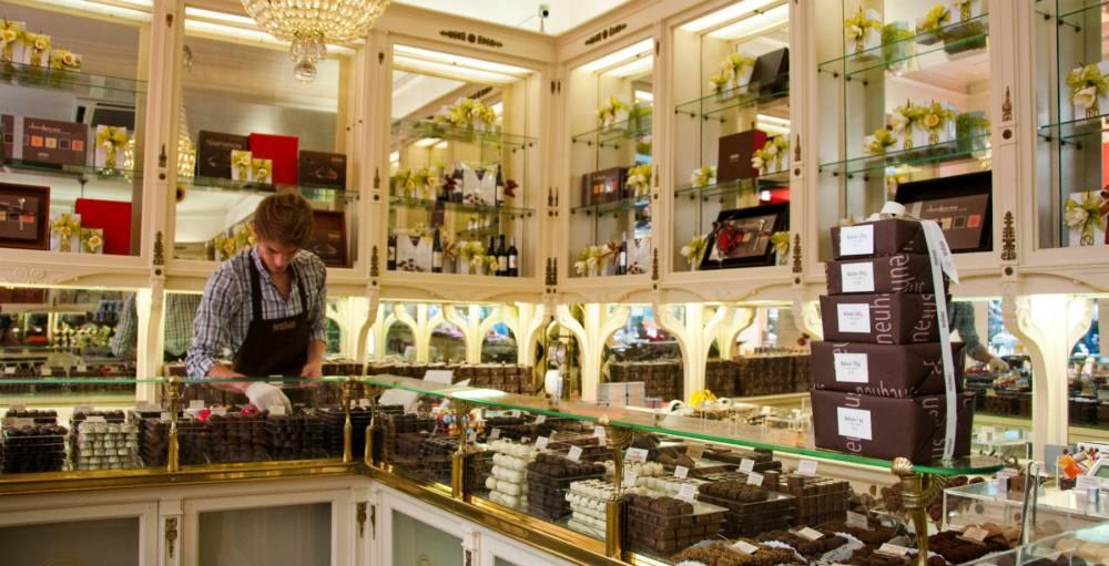 el paraiso del chocolate en bruselas