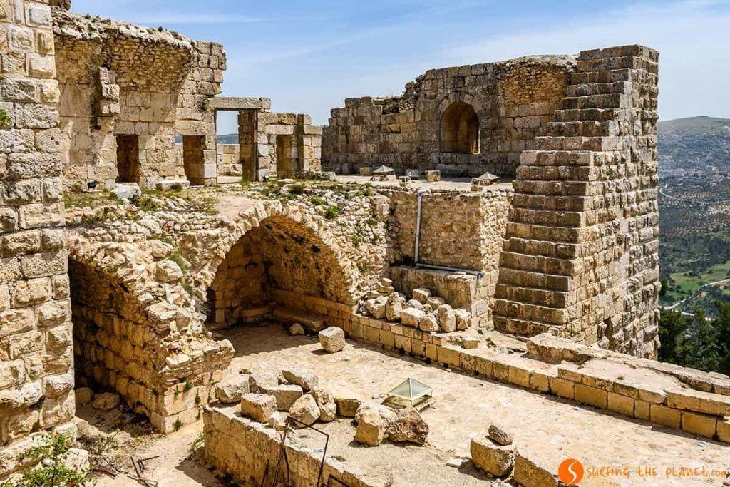 Ajlun castillo de Jordania