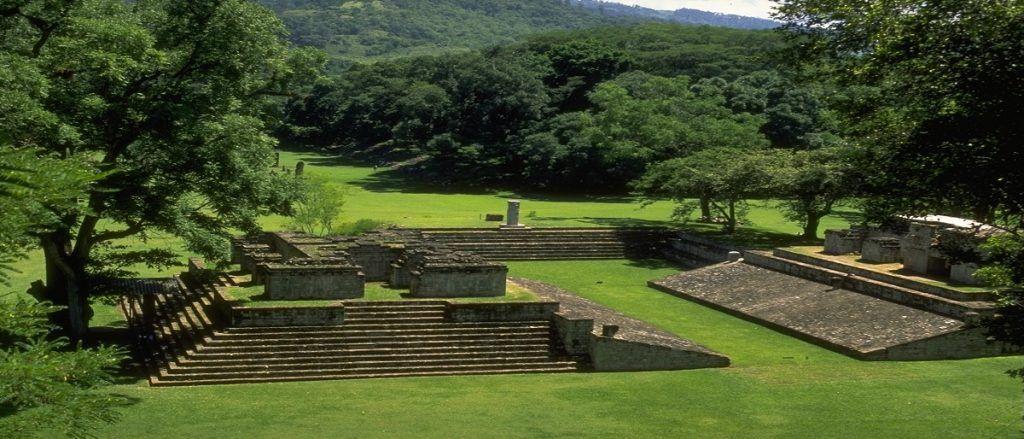 Las ruinas de Copán